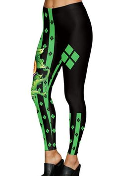 ee5c521d570ae Women Black Horror Printed Halloween Leggings - Halloween Leggings,  Halloween Prints, Costumes For Women