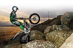 OSSA Trials bike, wow that brings back memories
