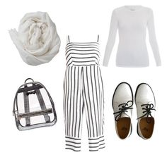 """""""Untitled #50"""" by ria-werakari on Polyvore featuring Majestic, Dr. Martens, Brunello Cucinelli and Betsey Johnson"""