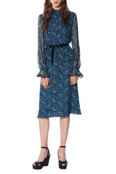 PRODUCT DETAILS Composition: 100% Silk (Exclusive of trims) Hydrocarbon Dry Clean Only Made with love in NYC SIZE AND FIT Model is wearing a sample size US 4 This style fits true to size Please call the Anna Sui Downtown store for more details: 212-941-8406.