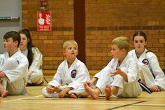 Oh Kami Karate Club: More photos of juniors training
