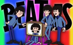 THE BEATLES CARTOONS | ... 900 in KING FEATURES: THE BEATLES CARTOONS ON ABC-TV * 1965 AND 1966