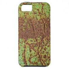 Rusty green iPhone 5 case