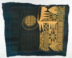 Africa | Robe ~ riga ~ from the Yoruba people of Nigeria | 20th century