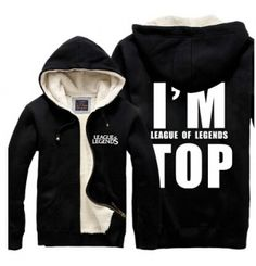 League of Legends hoodie for winter I am League of Legends TOP