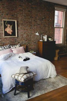 home tour // my seattle loft 'bedroom'