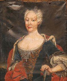 1760 - Mariana Vitoria de Bourbon , Rainha de Portugal