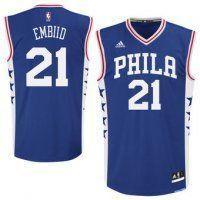 Men's NBA Philadelphia 76ers #21 Joel Embiid Jerseys