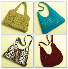 PURSE Sewing Pattern ~ Four Different Purses & Bags #patterns4you OOP & last one!