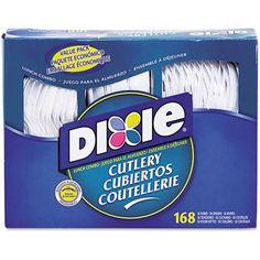 Dixie Heavy-Duty Combo Pack, 168 ct