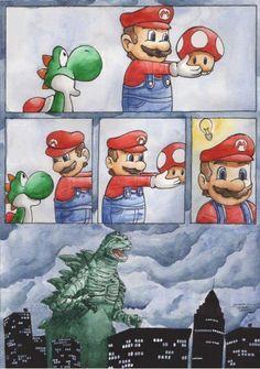 The origin of Godzilla.
