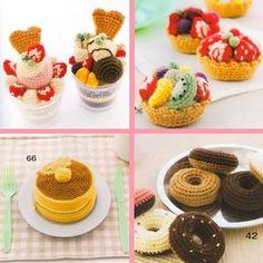 Ebook crochet food sweets PDF pattern