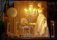 Wedding Window display with Bernard Thibault Floral Artistry, Toronto