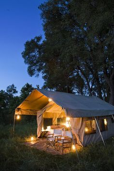 andBeyond Chobe and Savute Under Canvas, Botswana
