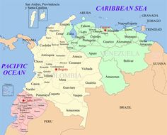 ecuador map
