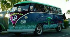 mushroom men VW Bus