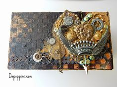 Mixed Media Canvas Collage, Altered Boxes, etc. - Community - Google+