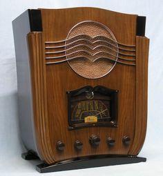 1936 Marconi, what a stunning design, wonderful art deco radio...