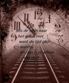 Mis de trein naar het geluk niet....L.Loe