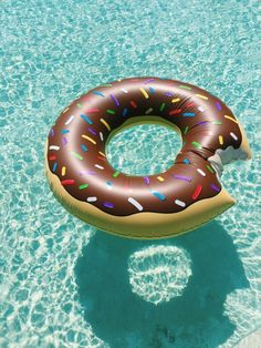 Doughnut float.