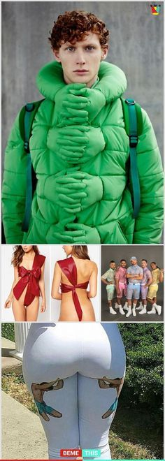 10+ of The Most Horrible Fashion Ideas #funnypics #horrible #fashion #weird #bemethis