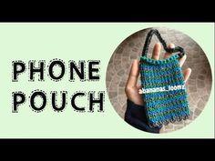 Abananas Loomz - Rainbow Loom Phone Pouch - YouTube Rainbow Loom Creations, Pouch, Make It Yourself, Phone, Youtube, Telephone, Sachets, Porch, Mobile Phones