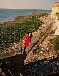 """""""Before Sunset"""" Grace Simmons for Harper's Bazaar UK January 2015"""
