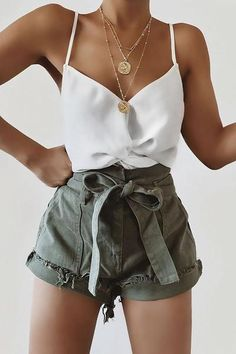 trendy summer outfits you'll love Weekly Outfits in ., trendy summer outfits you'll love Weekly Outfits Insider's guide to cute casual summer outfits you can wear every day this s. Trendy Summer Outfits, Cute Casual Outfits, Cute Summer Clothes, Summer Shorts Outfits, Summer Fashion Trends, Summer Clothing, Outfit Summer, Summer Trends, Casual Summer Fashion