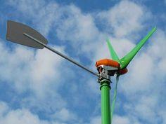 Ein Windrad im Garten - loht sich das? Mit einem Windrad können Hausbesitzer Strom selbst erzeugen. Tipps zu Auswahl, Aufstellung, Kosten und Wirtschaftlichkeit von Kleinwindkraft.