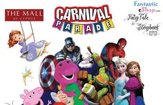 Carnival Parade στο The Mall of Cyprus
