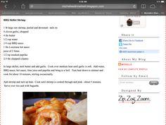 BBQ Skillet Shrimp