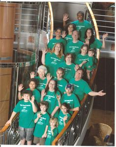 Taking a cruise for your family reunion? Make it easier to spot one another with matching custom tees.