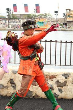 「イースターファッショ...」記事の画像 Disney Cast, Tokyo Disney Sea, Dancer, Costumes, Pants, Steampunk, Random, Style, Ideas