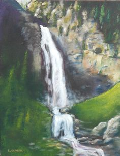 You can improve your landscape painting! From rushing streams to calm, reflective ponds, here are 5 tips for rendering the beauty of water in acrylic.