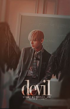 [CF] Devil by llyaas on DeviantArt Wattpad Book Covers, Wattpad Books, Taehyung Fanart, V Taehyung, V Wings, Spirit Fanfic, Kpop Posters, Hope Art, Overlays