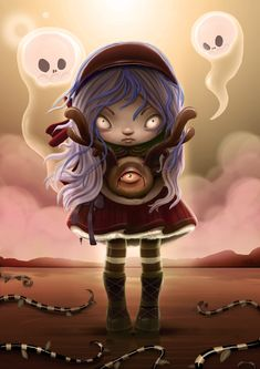 Create a Cute and Scary Children's Illustration in Photoshop