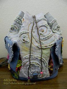 Flowers Denim Backpack | Allochka2012 | Flickr