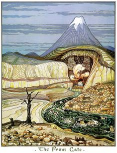 """""""""""Where there's life there's hope. Tolkien, The Hobbit. Tolkien, illustration for The Hobbit, Art And Illustration, Illustrations, J. R. R. Tolkien, Tolkien Books, Gandalf, Legolas, High Fantasy, Fantasy Art, Midle Earth"""
