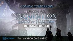 DAI DLC Jaws of Hakkon comes out tomorrow! (Confirmed by Dragon Age Twitter)