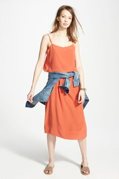 Madewell Just Teamed Up With Your Favorite Department Store #refinery29  http://www.refinery29.com/madewell-at-nordstrom#slide-5  Orange you glad it's almost spring?
