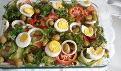 Receita de Salada Fácil de Bacalhau. Enviada por Sarah Oliveira Rosa e demora apenas 40 minutos.