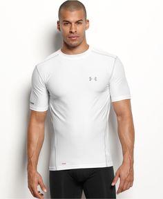 Under Armour Men's Athletic HeatGear� Performance Crew-Neck T-Shirt 2-Pack - Underwear - Men - Macy's
