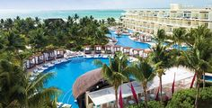 Azul Beach Resort Riviera Cancun, Gourmet All Inclusive by Karisma - Puerto Morelos Jamaica Resorts, Best All Inclusive Resorts, Mexico Resorts, Mexico Vacation, Vacation Deals, Hotels And Resorts, Dream Vacations, Travel Deals, Vacation Spots
