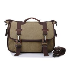Cheap canvas messenger bag, Buy Quality bag 2016 directly from China shoulder bags Suppliers: Preppy Style Canvas Purse Men 14 inches Laptop Briefcase Solid Zipper Shoulder Messenger Bag for Daily Work Khaki Canvas Purse, Canvas Messenger Bag, Laptop Briefcase, Laptop Bag, Handbags For Men, Vintage Canvas, Casual Bags, Crossbody Bag, Satchel Bag