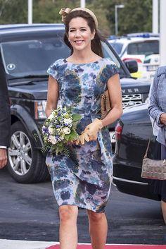 25 FLOTTE BILLEDER: Kronprinsesse Mary elegant i blåt | BILLED-BLADET