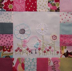sewingly along...: quilt block
