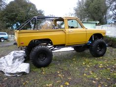 1 of a kind Ford Courier/Toyota Crawler Nor-Cal 95966 - Pirate4x4.Com : 4x4 and Off-Road Forum