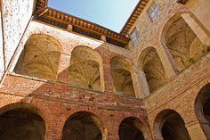 Abbazia dei Sette Frati is near Lake Trasimeno in Umbria, Italy.  A beautiful place to visit. http://barraganstudio.blogspot.it/