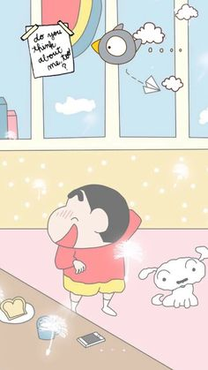 Sincan Sinchan Wallpaper, Funny Iphone Wallpaper, Iphone Background Wallpaper, Kawaii Wallpaper, Sinchan Cartoon, Doraemon Cartoon, Kawaii Background, Crayon Shin Chan, Disney Images