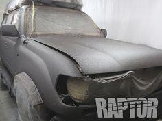 TOYOTA LAND CRUISER 80: Full Overspray #raptorised